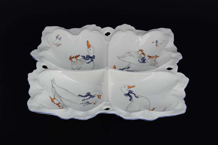 фарфоровая посуда со знаком короны