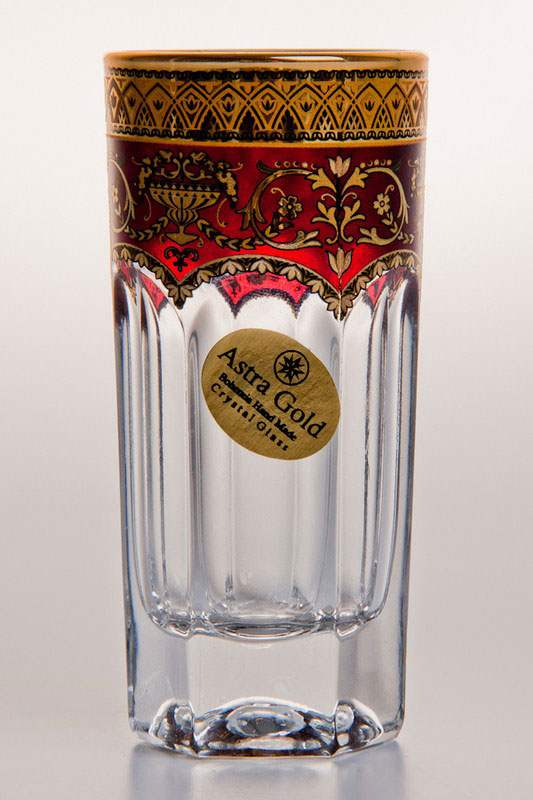 Провенза Империя Набор стаканов для водки Astra Gold на 6 персон