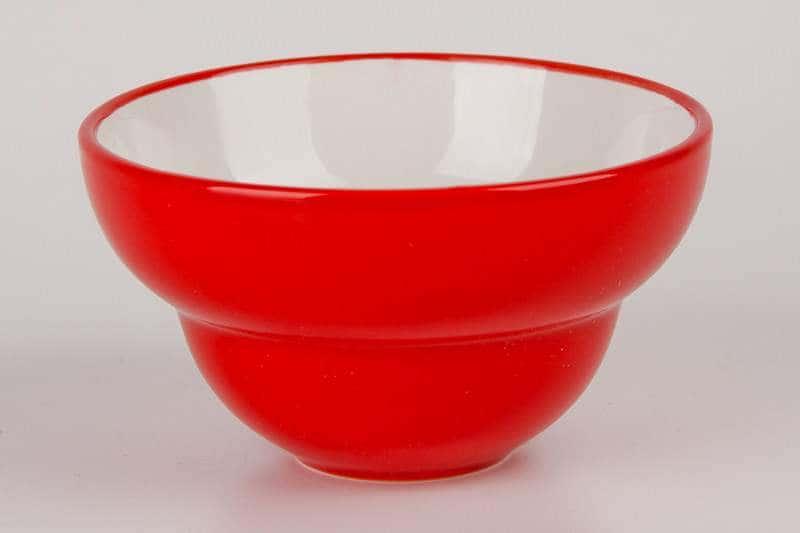 Пиала Waechtersbach красная из керамики 11 см