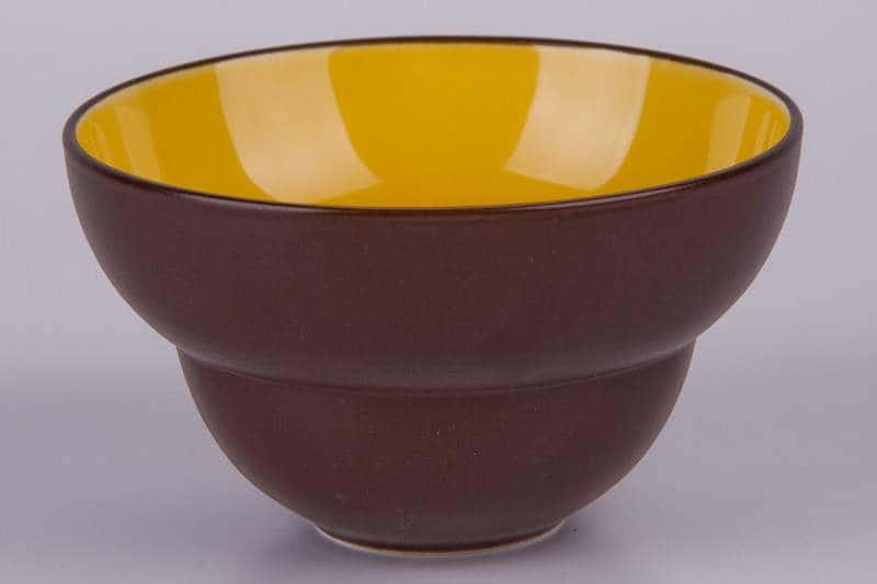 Пиала Waechtersbach коричневая 11 см из керамики
