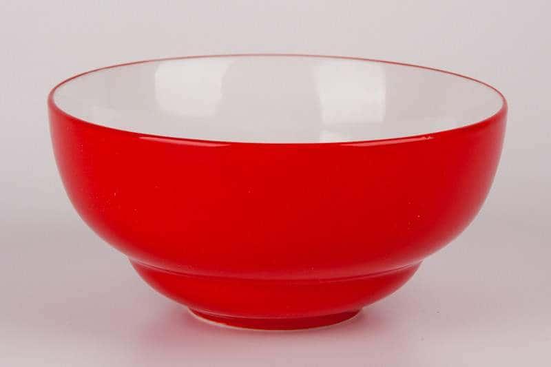 Салатник красный Waechtersbach из керамики 14,5 см