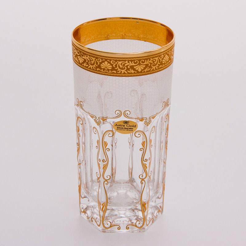 Провенза Перса Набор стаканов для воды Astra Gold на 6 персон
