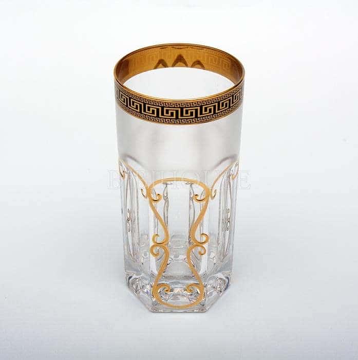 Провенза блэк фон Набор стаканов Astra Gold 370 мл