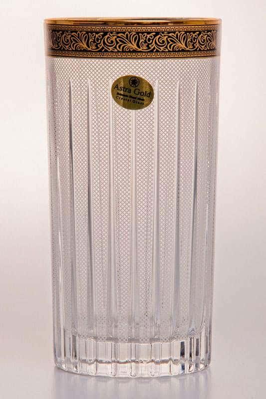Таймлесс Лилит Набор стаканов для воды Astra Gold 440 мл