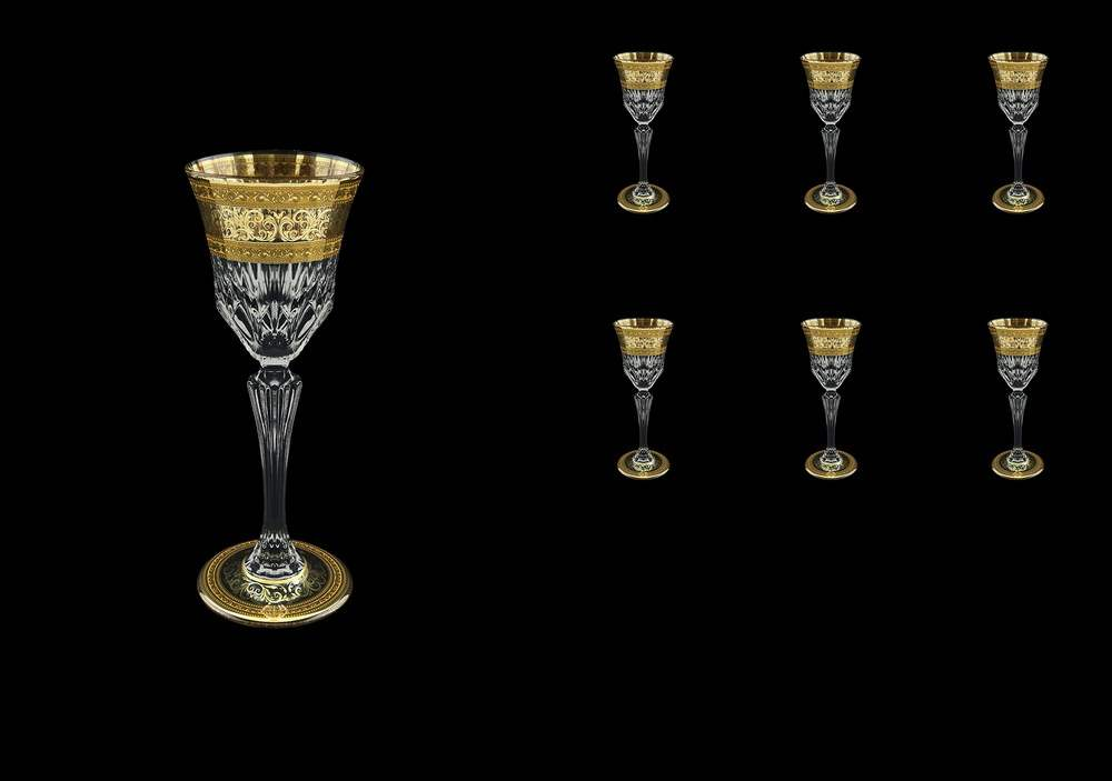 Аллегро Набор рюмок для водки Astra Gold 80 мл