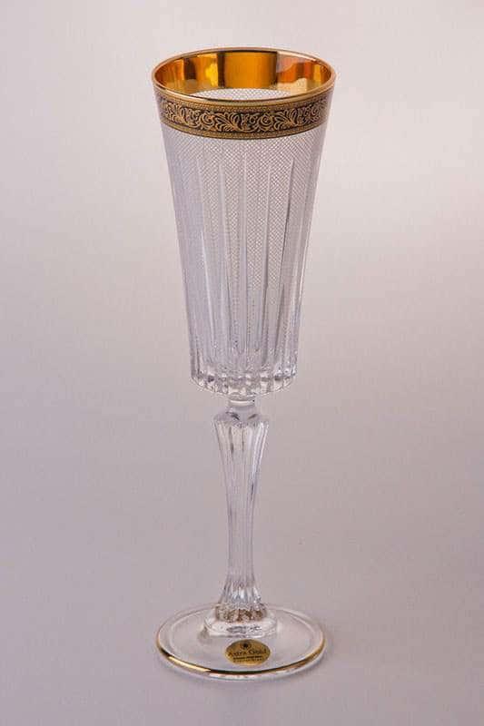 Набор бокалов для шампанского 210 мл Таймлесс Лилит на 6 персон