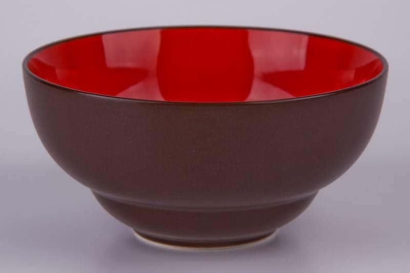 Салатник коричневый Waechtersbach из керамики 14,5 см