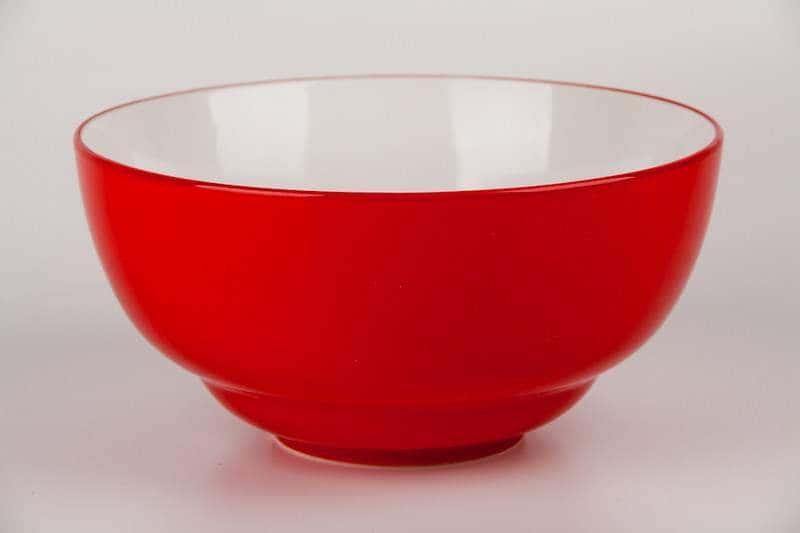 Салатник красный Waechtersbach из керамики 20 см