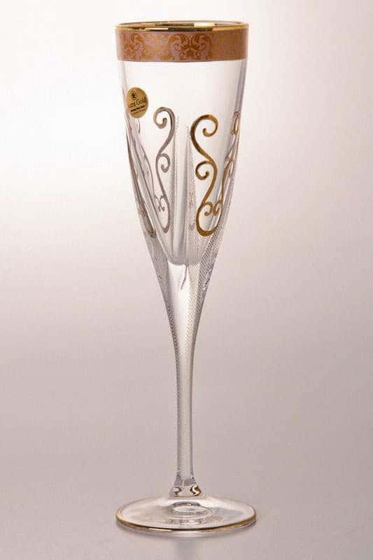 Набор бокалов для шампанского на 6 персон Фузион
