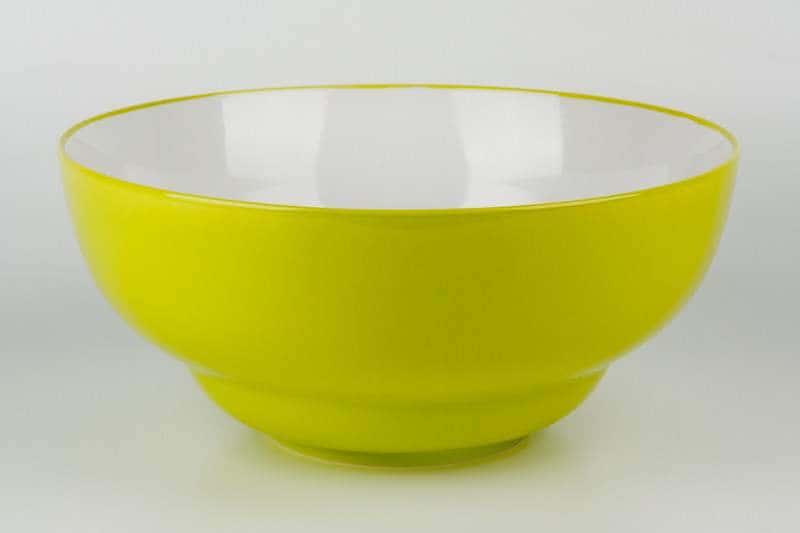 Салатник из керамики 28 см зеленый Waechtersbach