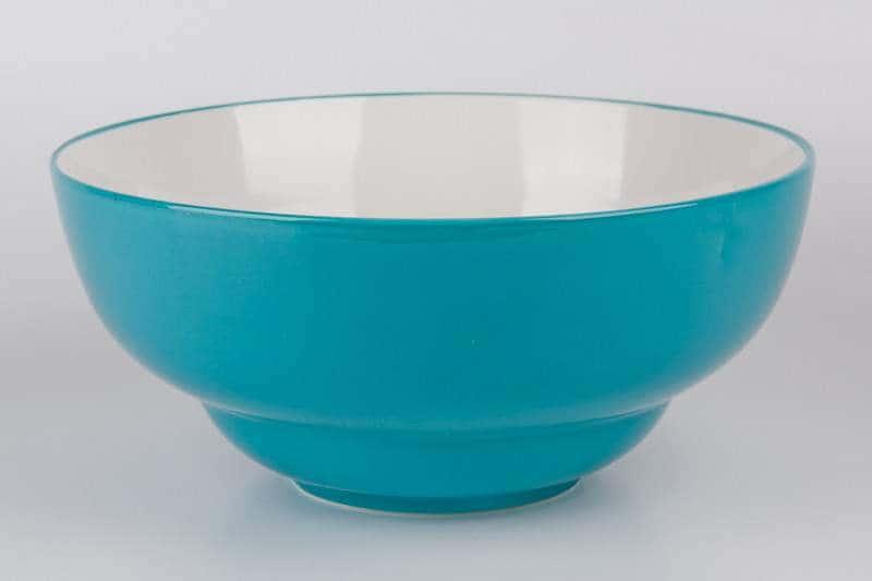 Салатник из керамики 28 см голубой Waechtersbach