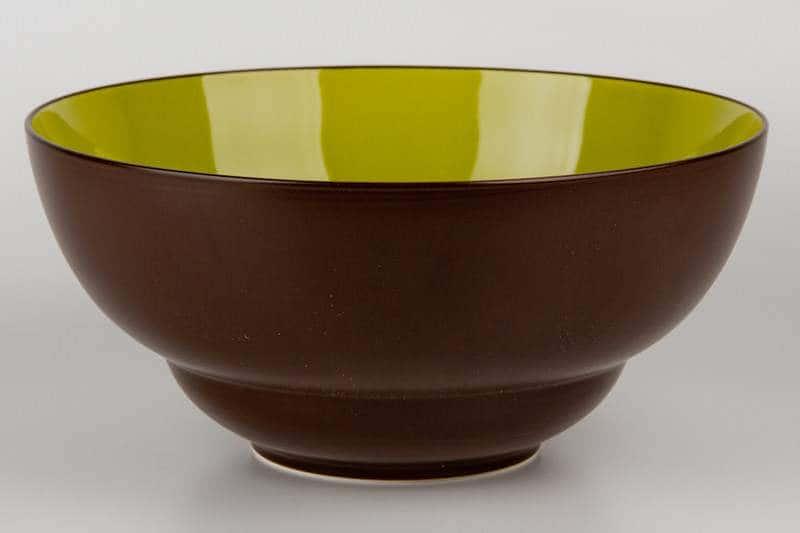 Салатник из керамики 28 см коричневый Waechtersbach