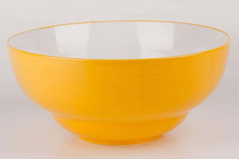 Салатник из керамики 28 см желтый Waechtersbach