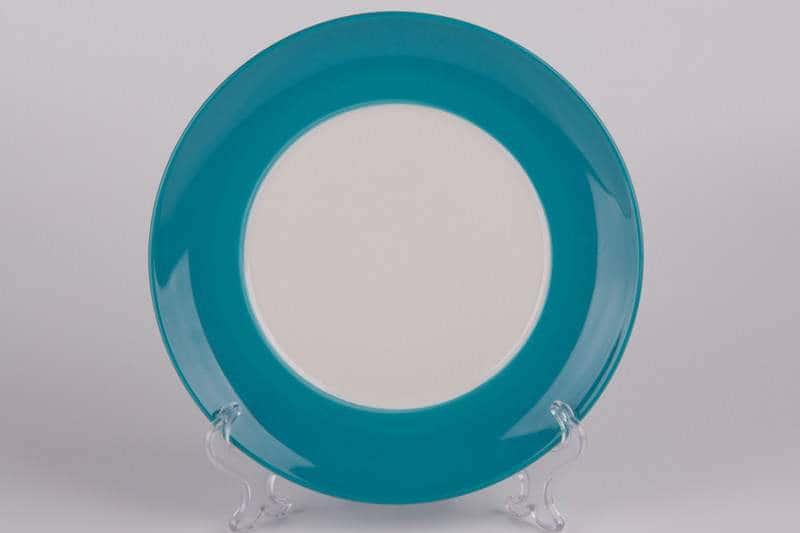 Тарелка из керамики голубая Waechtersbach 21 см