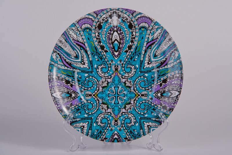 Синий орнамент Тарелка из керамики Waechtersbach 21 см
