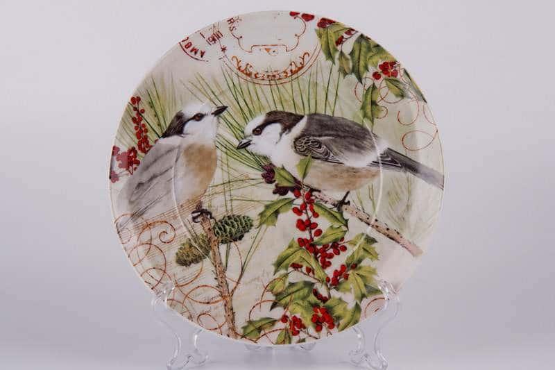 Две птицы Тарелка из керамики Waechtersbach 21 см