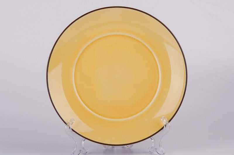 Тарелка желтая Waechtersbach из керамики 21 см
