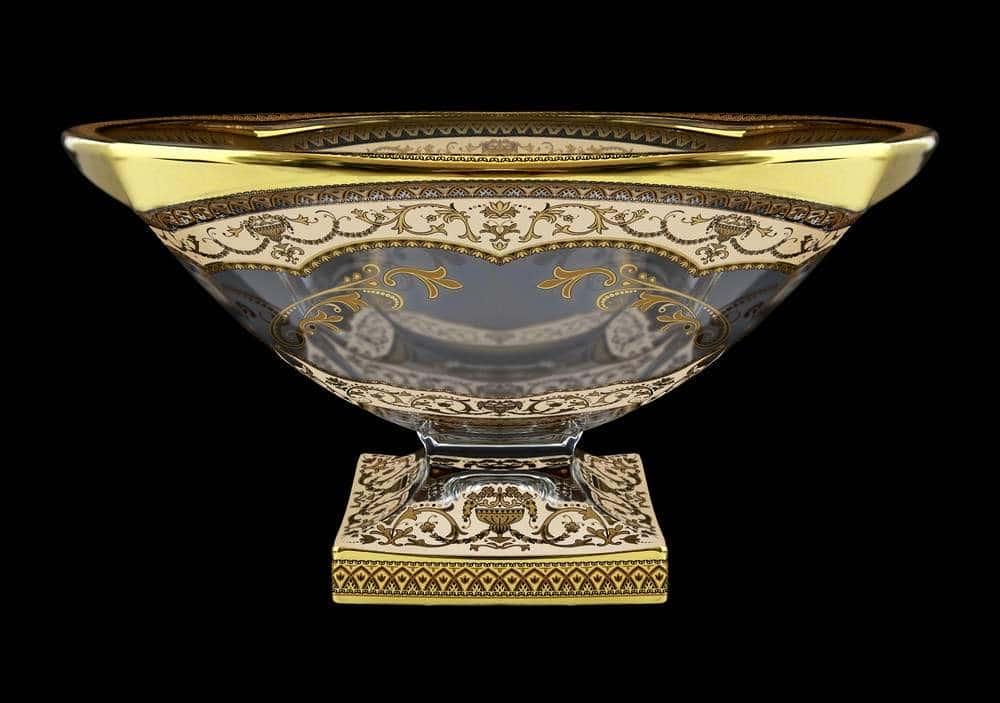 Ваза для фруктов 34 см Магма Империя Astra Gold