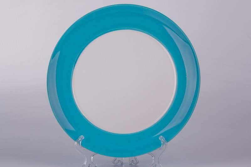 Тарелка из керамики Waechtersbach 27 см голубая