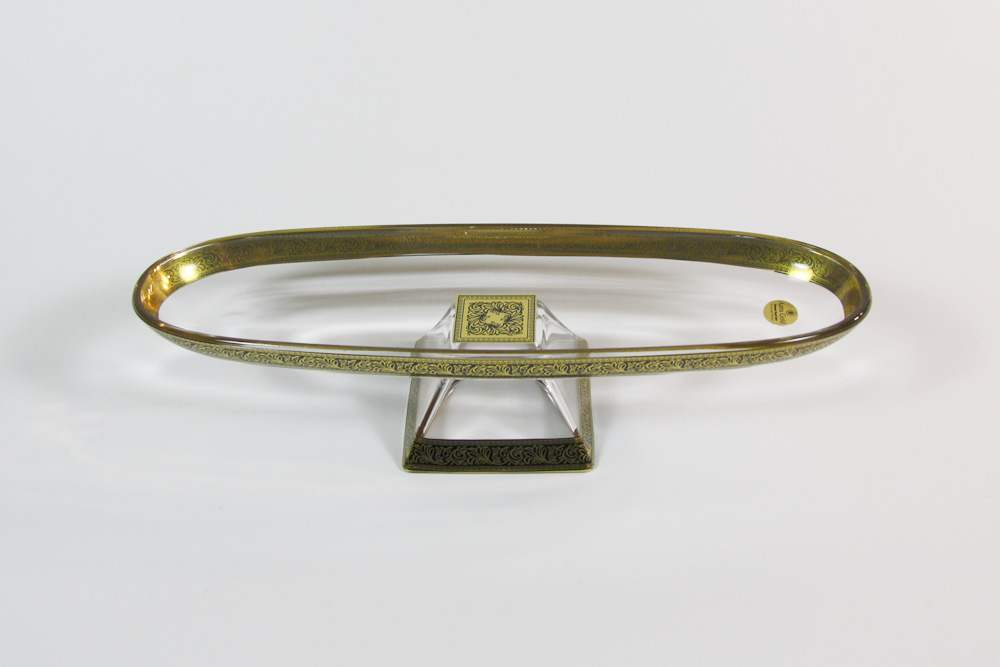 Ваза для фруктов 30 x 9,5 см Лилит Astra Gold
