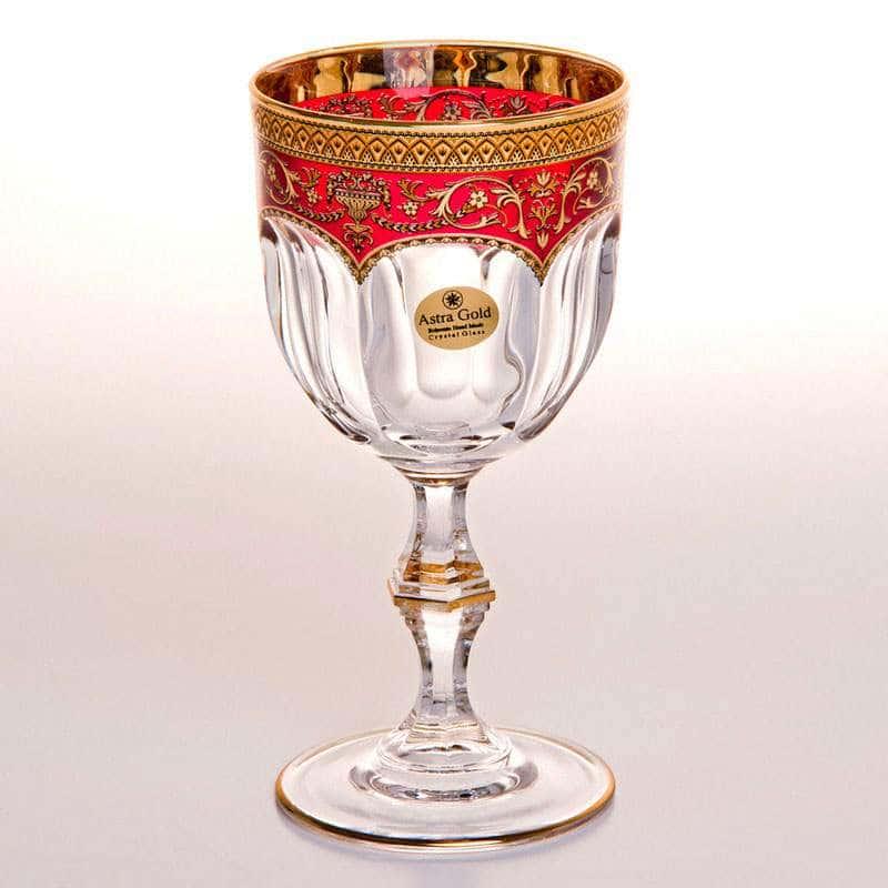 Набор бокалов для вина 230 мл Провенза Империя Astra Gold