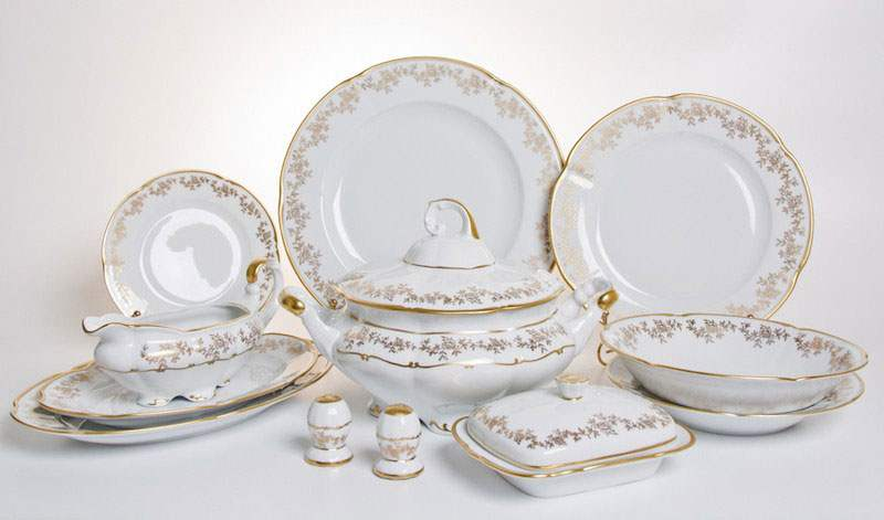 Мария 202 Сервиз столовый Bavarian Porcelain 27 предметов
