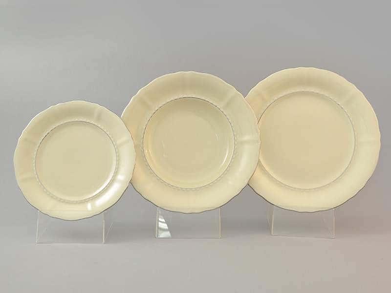 Соната Набор тарелок для сервировки из фарфора Leander