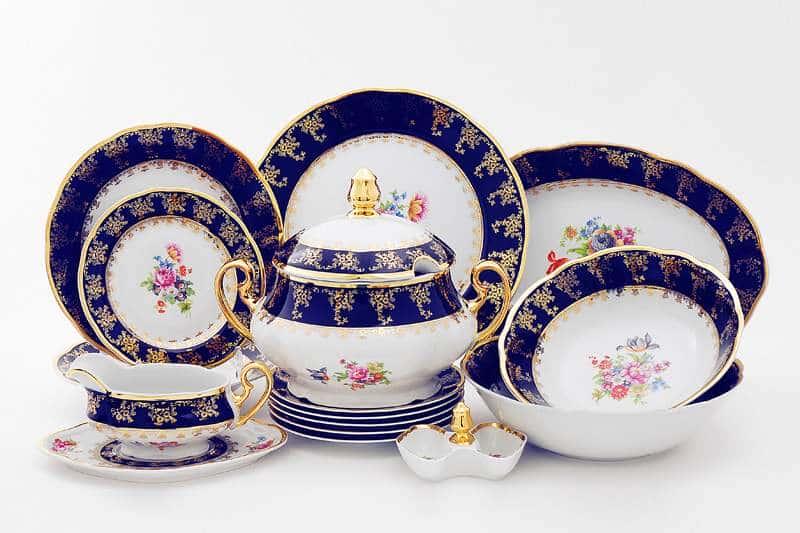 Сервиз столовый на 6 персон 25 предметов Мэри Энн Мелкие цветы