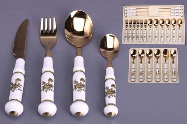 Веймар 1007 Набор столовых приборов на 6 персон 24 предмета