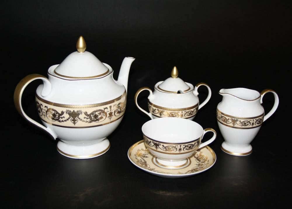 Александрия Чайный сервиз Bavarian на 6 персон 15 предметов