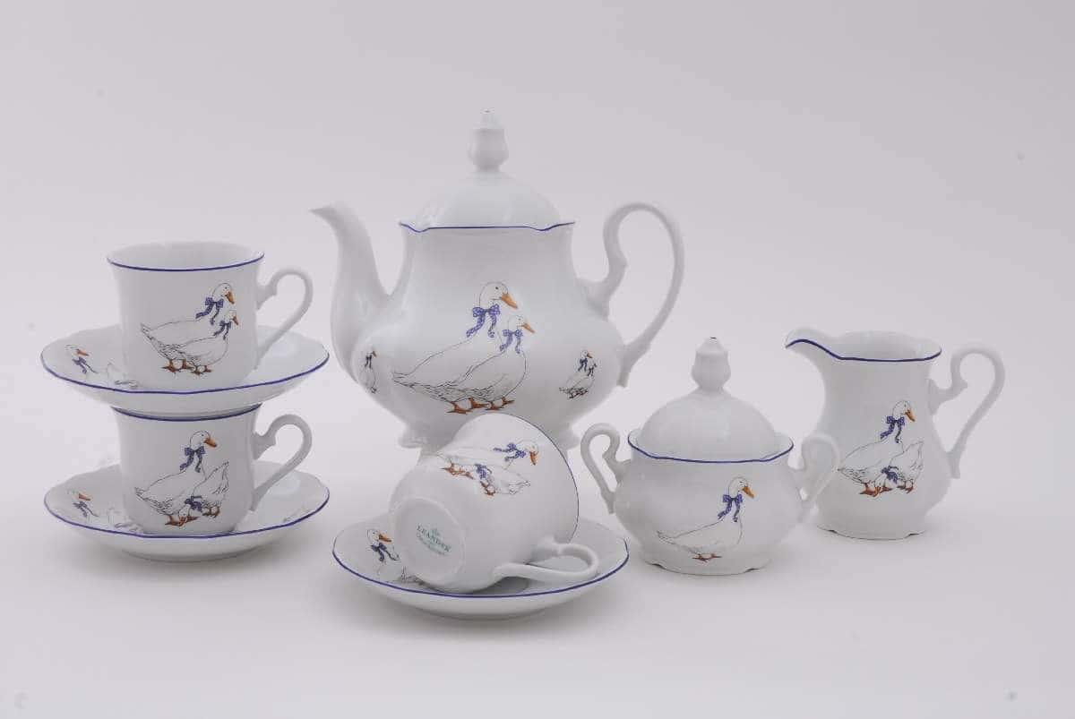 Чайный сервиз Мэри Энн Гуси 15 предметов