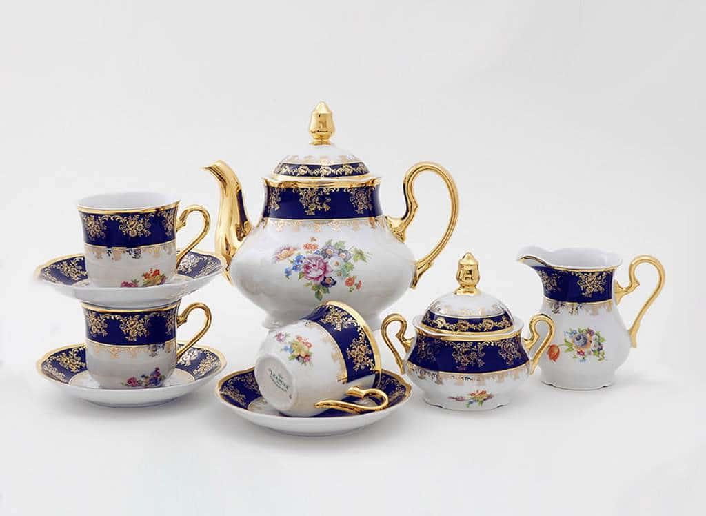 Чайный сервиз 15 предметов Мэри Энн 0086