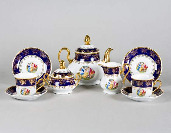 Чайный сервиз 15 предметов Мэри Энн Мадонна