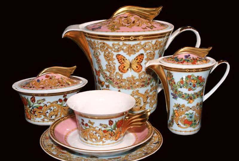 Ле Жардин Чайный сервиз Rosenthal 21 предмет