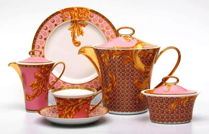 Бизант Чайный сервиз Rosenthal  21 предмет из фарфора