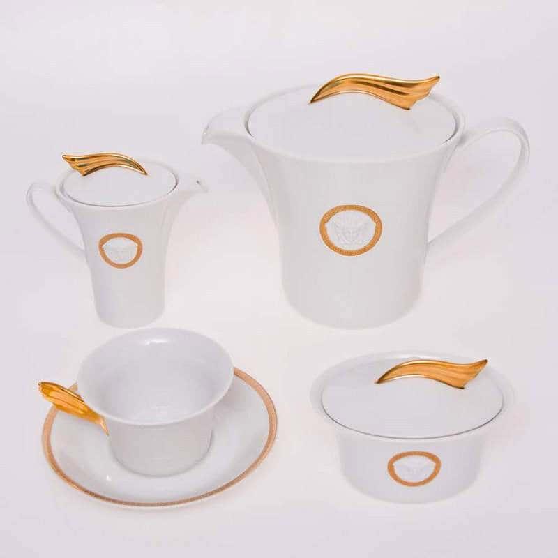 Медальон Меандр Чайный сервиз Rosenthal 15 предметов