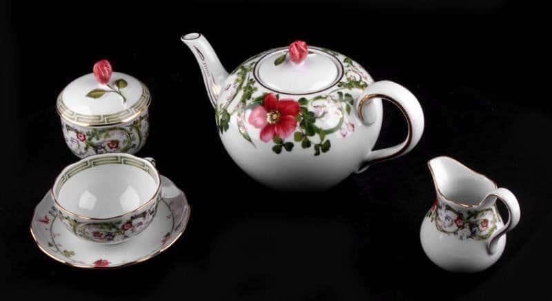 Цветочная фантазия Чайный сервиз Rosenthal 21 предмет