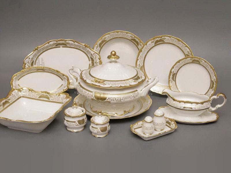Симфония Золотая Сервиз столовый Weimar на 6 персон 30 предметов