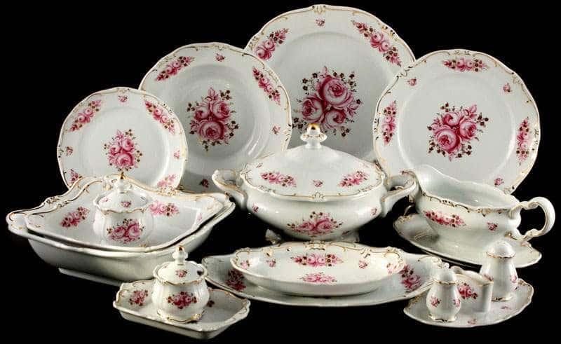 Роза Сервиз столовый Weimar на 12 персон 49 предметов