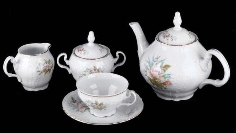 Бернадот Дикий лопух 23011 Чайный сервиз 15 предметов