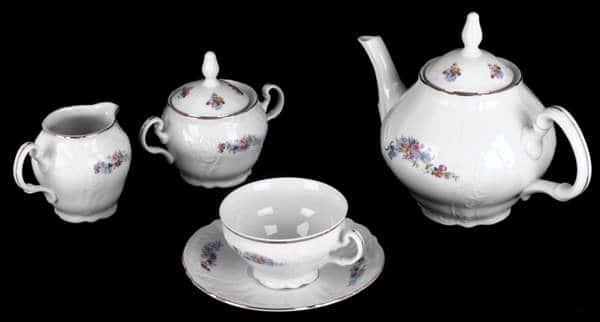 Бернадот 03011 Чайный сервиз 15 предметов из фарфора