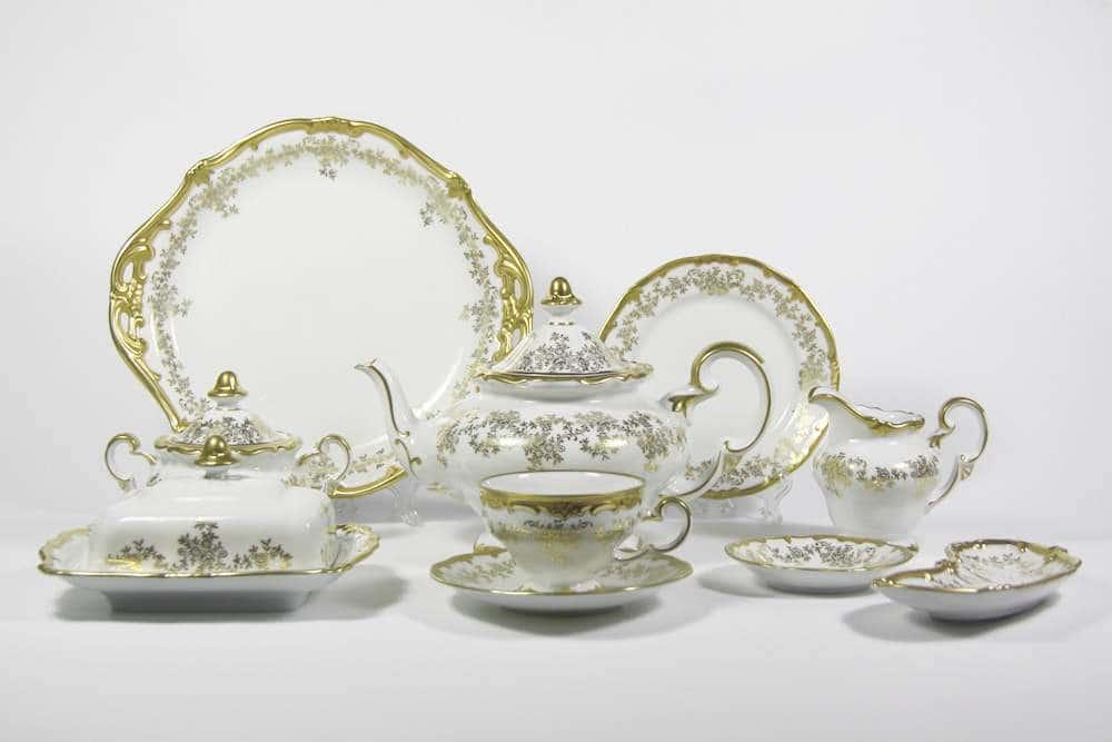 Кастэл Чайный сервиз Weimar Porzellan 30 предметов