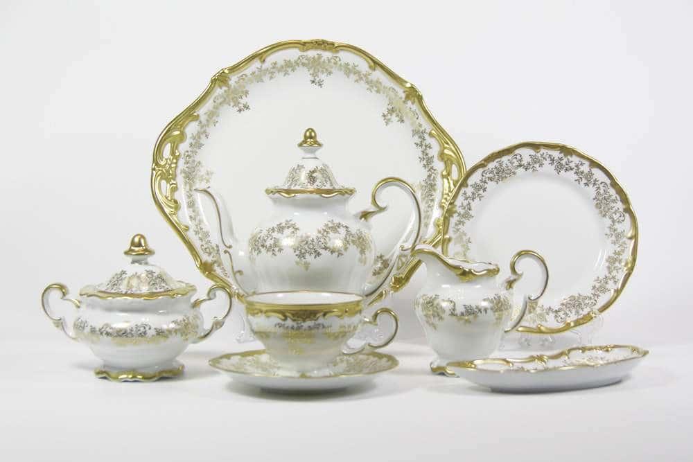 Кастэл Чайный сервиз Weimar Porcellan 23 предмета