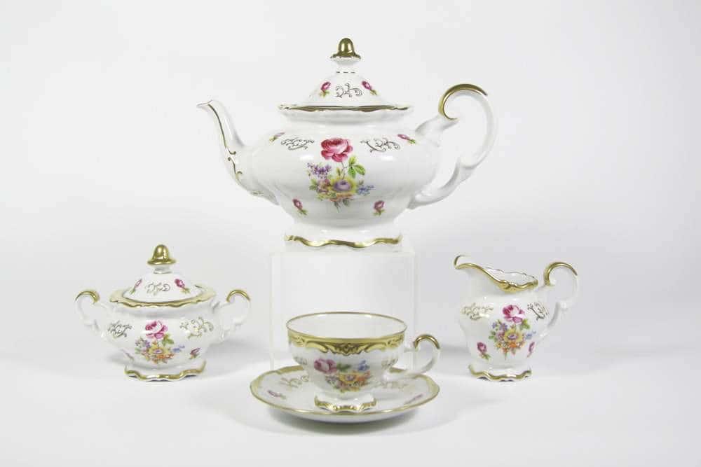 Санкт Петербург Чайный сервиз Weimar Porzellan 21 предмет