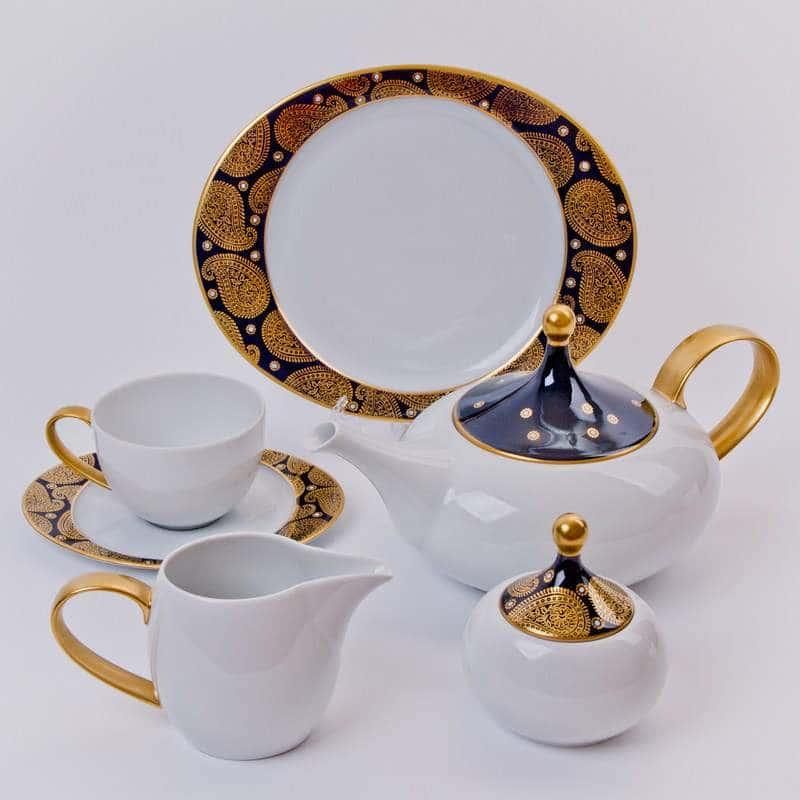 Тревел Чайный сервиз Weimar porcellan 21 предмет