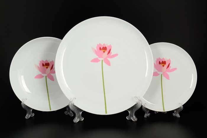 Том Лотос Набор тарелок 18 предметов  Тхун