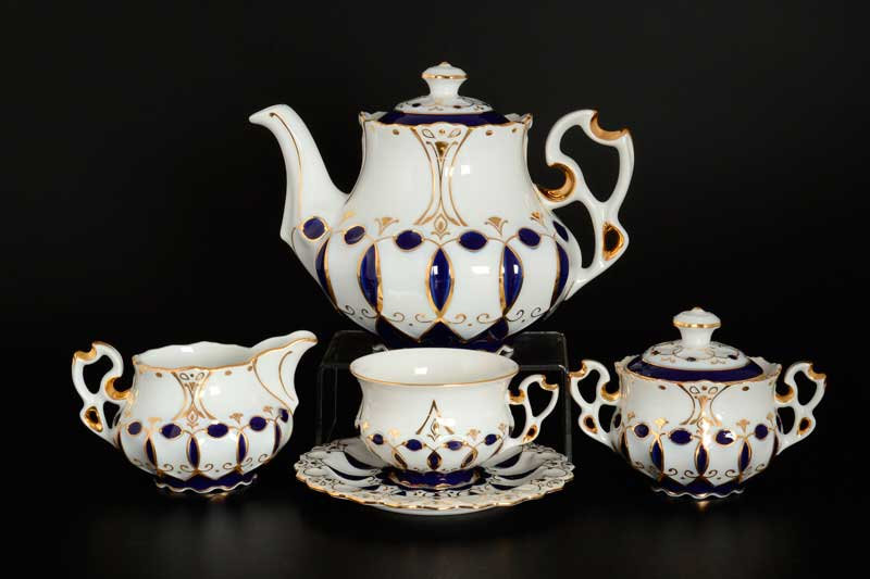 Элизабет Чайный сервиз Thun на 6 персон 17 предметов