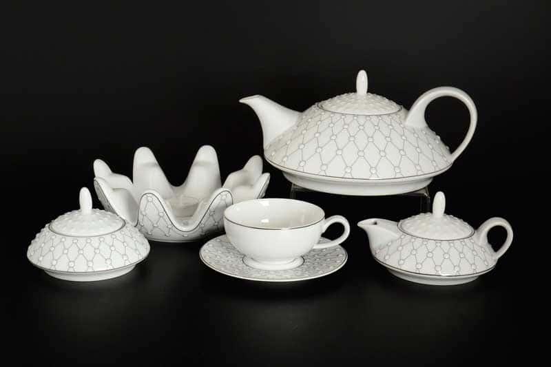 GALAXIE BRAD Чайный сервиз Thun на 6 персон 17 предметов