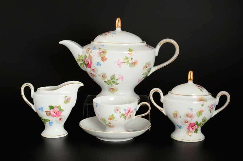 Президент Чайный сервиз Thun на 6 персон 17 предметов