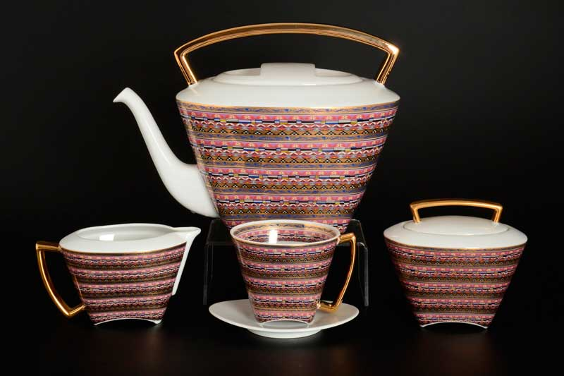 WO-MAN Чайный сервиз Thun на 6 персон 17 предметов